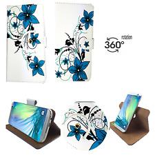 Housse portable | Acer Liquid z6e | 360 ° protection Sac | 360 M fleur verte