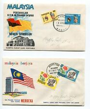 Malaysia First Day Covers  Please see the scans