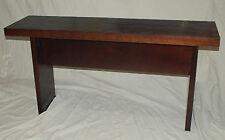 Sofa table Distressed undulated
