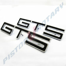 GTS Guards & Boot BADGES x2 BLACK , NEW , for HOLDEN HK HT HG MONARO fender hood