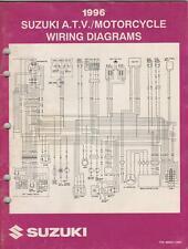 1996 Suzuki Motorcycle & Atv Wiring Diagram Manual