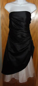 NEW Onyx Nite sexy cocktail formal dress tuille 8 $108