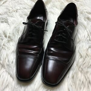 Johnston & Murphy Men Size 9.5 Flex System  Cap Toe Oxford Dress