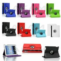 PU Leather 360 Degree Rotation Smart Stand Book Case Cover For Apple iPad 2 3 4