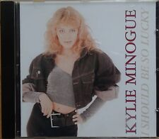 Maxi CD I Should Be So Lucky - Kylie Minogue PWL (c) 1988 Saw Madonna Lady Gaga