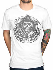 Official Sons Of Anarchy Classic Reaper T-Shirt MC Motor Cycle Club Teller