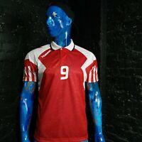 Denmark Style Jersey Home football shirt 1992 - 1993 Hummel Trikot Mens SIze S
