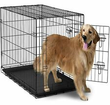 Extra Large Dog Crate Kennel XXL XL Huge Folding Pet Wire Cage Giant Breed Size