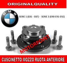 KIT CUSCINETTO MOZZO RUOTA ANTERIORE BMW SERIE 1 (E81 E87) 3 (E90 E91 E92) ANT