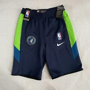 NWT Nike NBA Minnesota Timberwolves Team Player Issue Practice Flex Shorts SMALL
