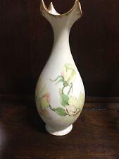 JPL Limoges Vase Vintage Painted Vase