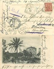 157 - Regno - Cartolina da Capri a Monaco (Germania) e poi rispedita, 1900