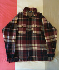 Vintage Polo Ralph Lauren 1/2 zip check pullover - XL - exc. cond. Made in USA.