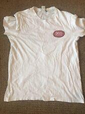 Deus Ex Machina T Shirt (Large) - Deus Cycles Logo On White Tshirt