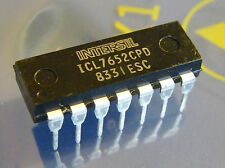 ICL7652CPD Chopper Stabilized Operational Amplifier, Intersil