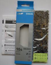 Shimano - Catena CN-HG54 HG-X Dyna-sysII 10v/s 116 link XT/XTR/SLX/DEORE - NEW