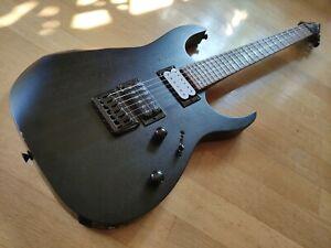 E-Gitarre IBANEZ RGRT-421**Black Open Pore**Metal-Strat**Modified