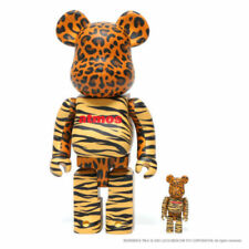 """BE@ RBRICK Bears """"Animal"""" - atmos & Medicom Limited Toy Release - 100% & 400%"""
