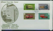 Guernsey 1979 Public Transport   First Day Cover