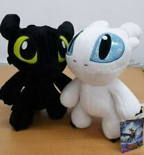 How To Train Your Dragon 3 25cm Toothless Night Fury Light Fury Plush Cute AU Un