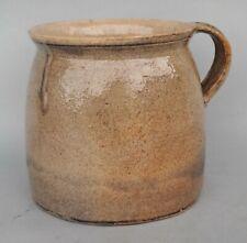 Antiker Steingut Keramik Krug - Topf - um 1900