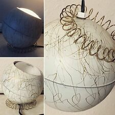 Vintage Modern Globe Lamp Light Desk Or Hanging MOD Orb Planet 🌎 Hippie Design