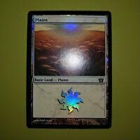 FOIL Plains Basic Land #333 x1 8th Eighth Edition 1x Magic the Gathering MTG