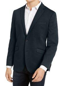 Kenneth Cole Reaction Mens Sport Coat Blue Size 38 Short Slim-Fit Knit $295 134