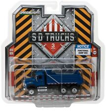1:64 GreenLight *SD TRUCKS 3* 2017 International WorkStar BLUE Dump Truck NIP!