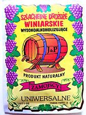 Weinhefe Trockenhefe Universal Wein selbermachen
