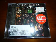 Winger / Live ORG'07 2CD Shrapnel Records NEW!!!!!!!!!! B4