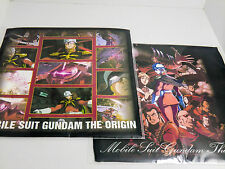 Mobile Suit Gundam The ORIGIN the Movie (2) Microfiber Mini Towels Unopend New!