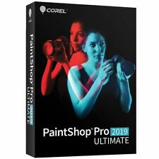 Corel PaintShop Pro 2019 Ultimate Disc included Factory Sealed Retail Pack