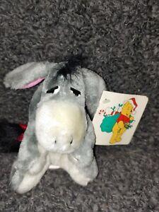 """Vintage Sears Walt Disney Winnie The Pooh Eeyore 5"""" Stuffed Plush 1989"""