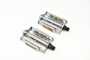 """TRADITIONAL 9/16"""" TYPE STEEL CHROME PEDALS"""
