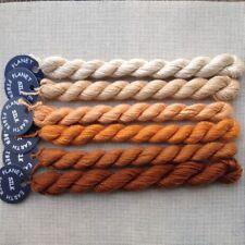 Planet Earth 100% Silk thread for needlepoint needlework Cognac