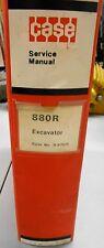CASE 880R 880 R EXCAVATOR SERVICE REPAIR MANUAL 9-67071 10/77