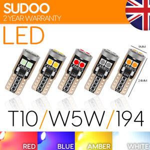 501 W5W T10 Car LED 3030 SMD Bulb light Xenon Lamp Canbus error free Upgrade