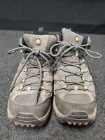 Merrell Select Dry Mid Vent Boots Slate Blk/Brown Women's Sz 8.5 US A#8 L14D
