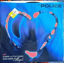 """Music Vinyl Record: Th e Police """"Everything She Does Is Magic"""" 1981 (45/Single)"""