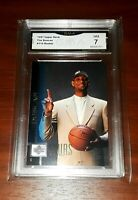 1997 Upper Deck #114 TIM DUNCAN Rookie RC GMA 7! PSA/BGS? H.O.F.📈