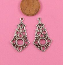 Findings - 2 Pc(s) Vint Design Ant Silver Earring