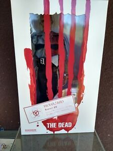 """Sideshow 1/6 """"The Dead"""" Subject 05 Security Guard Figure"""