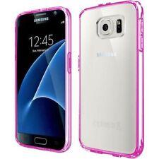 Étuis, housses et coques roses transparentes pour téléphone mobile et assistant personnel (PDA) Samsung