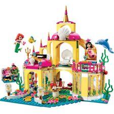 Princess Undersea Palace Mermaid Castle Building Blocks Compatible LEGO 41063