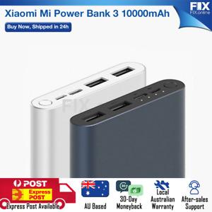 BrandNew Mi Power Bank 3 10000mAh Dual USB Type-C Portable XiaoMi for Samsung