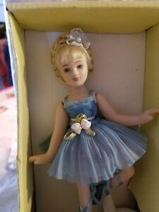 Vintage Victorian Beauty Porcelain Ballerina  Collectible NIB