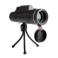 40X60 Binocular Telescope w/Compass/Tripod/Adapter for Phone Camera Take Picture