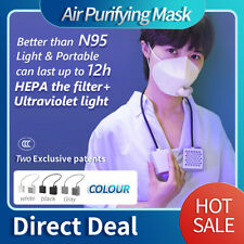 Electrical Airpro Mask Rechargeable Powered Air Purifying Respirator With 2 Mask