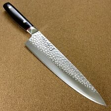 Japanese PRO-J Kitchen Gyuto Chef's Knife 230mm 9 inch Hammer Forged SEKI JAPAN